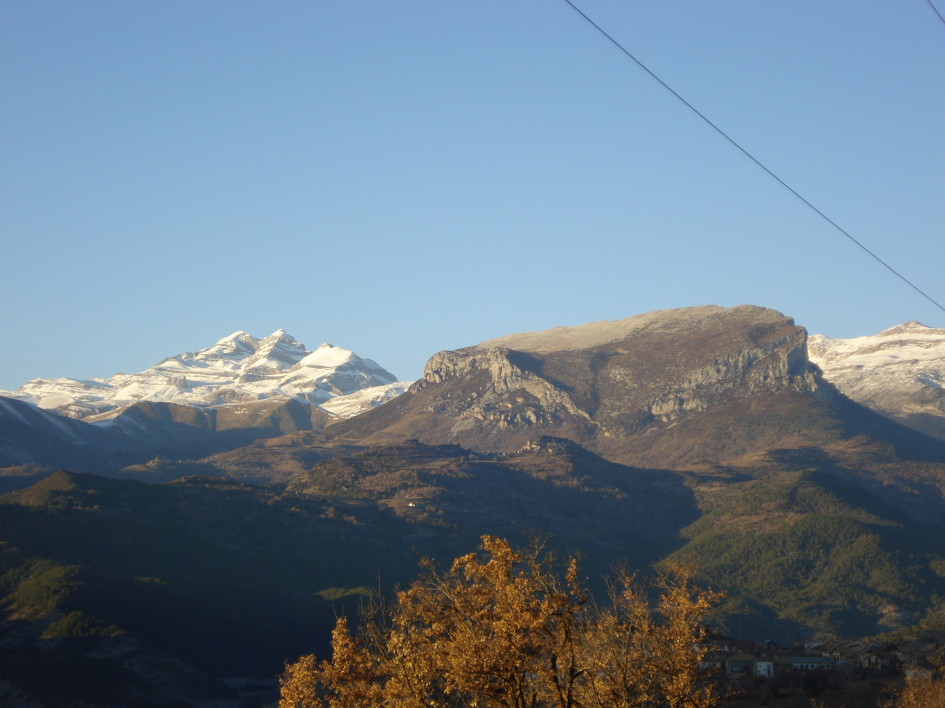 Vistas de Monte Perdido