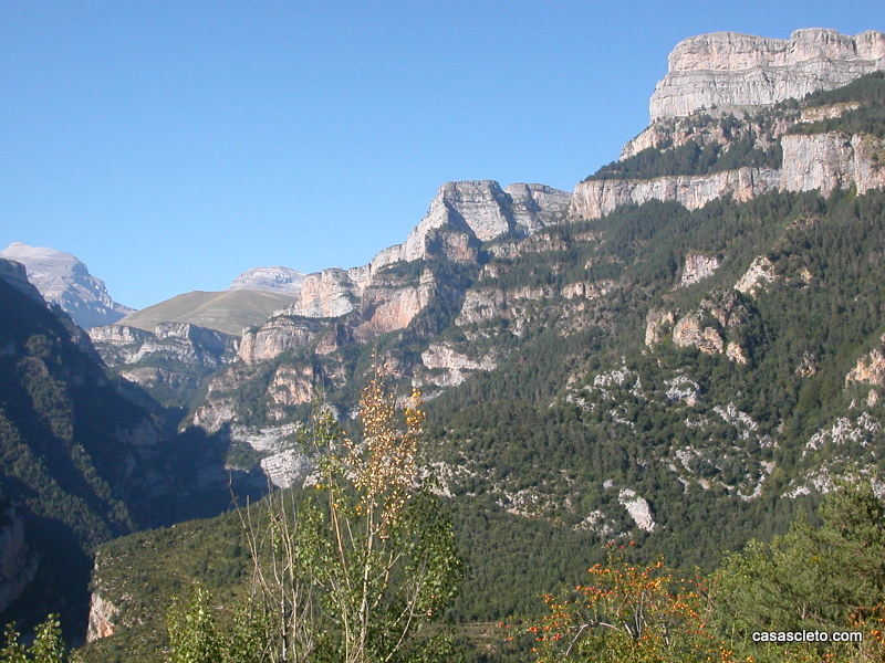 Vista del Parque Nacional de Ordesa